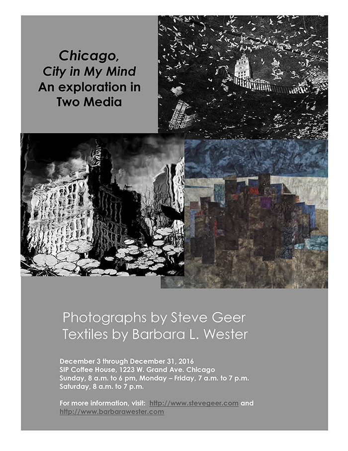 Steve Geer and Barbara Wester Show Dec 2016